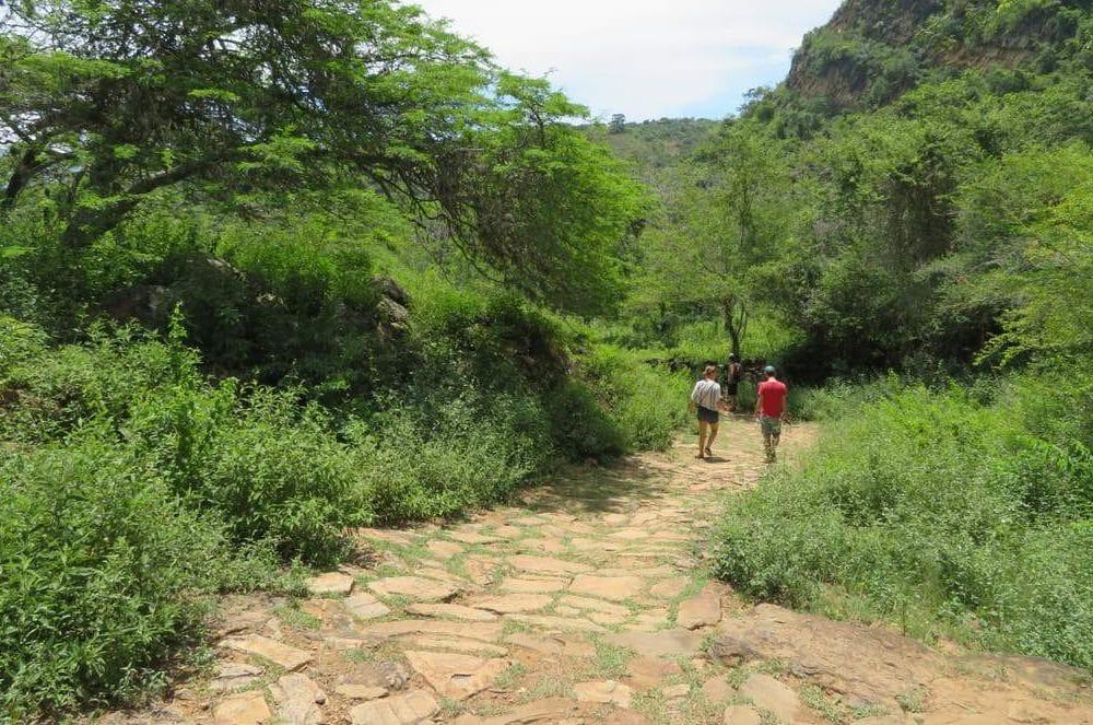 walk to Guane from Barichara